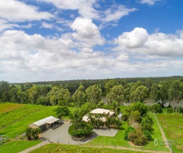 SOLD!! Absolute Riverfront Spectacular Residence on 20 acres