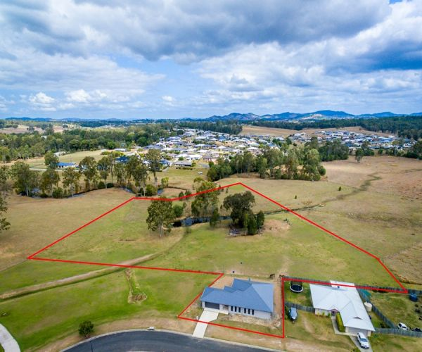 UNDER OFFER!! Large Near New Home on approximately 5 Acres!!
