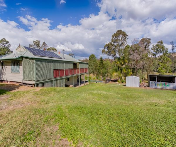 12.97 Acres, 3 Bedroom Solid Home, Huge shed!