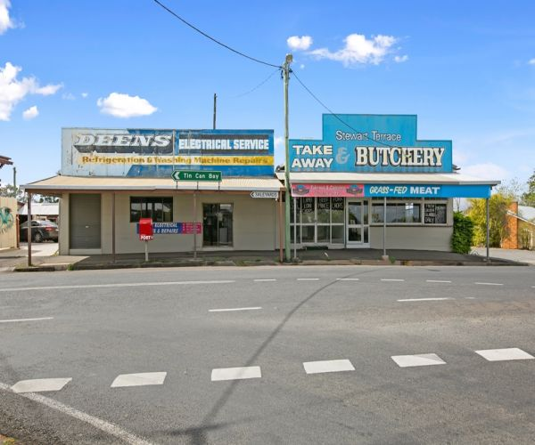 Freehold Commercial Property - 3255m2 in 2 Titles
